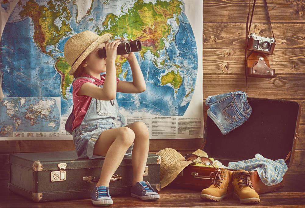 Actividades de viaje con los niños