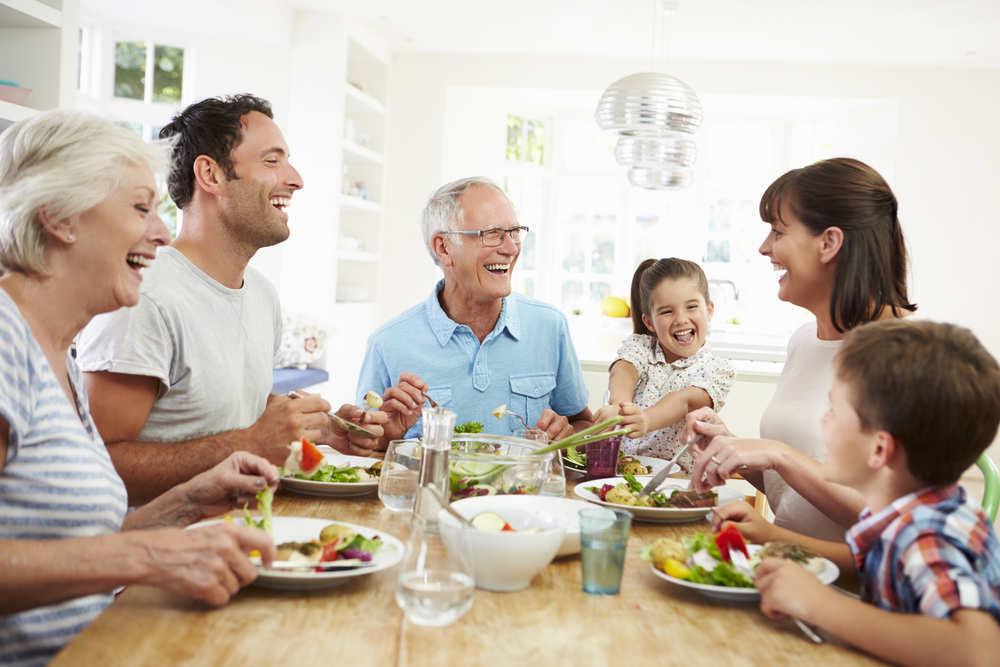 Cómo conciliar la vida familiar entre niños y ancianos