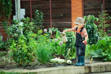 El jardín, un lugar de recreo y aprendizaje