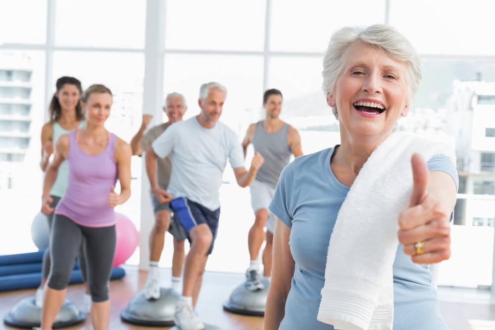 El ejercicio físico en la tercera edad