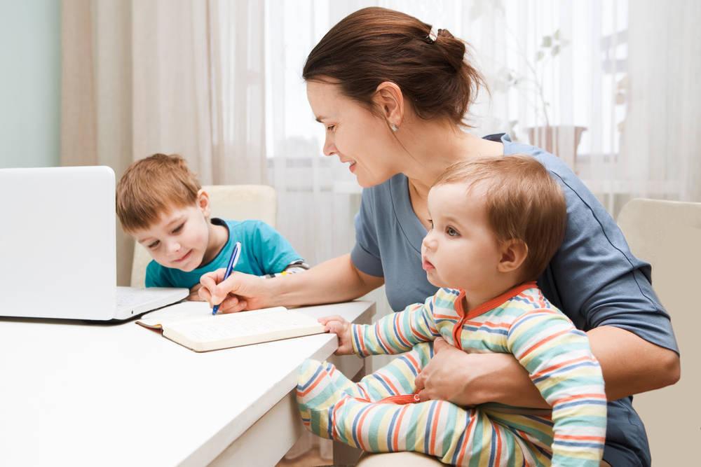 La vida de los padres que trabajan