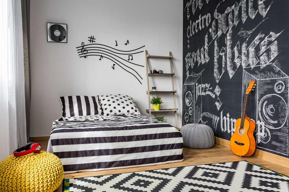 El dormitorio juvenil