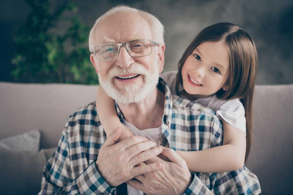 La convivencia entre abuelos y nietos