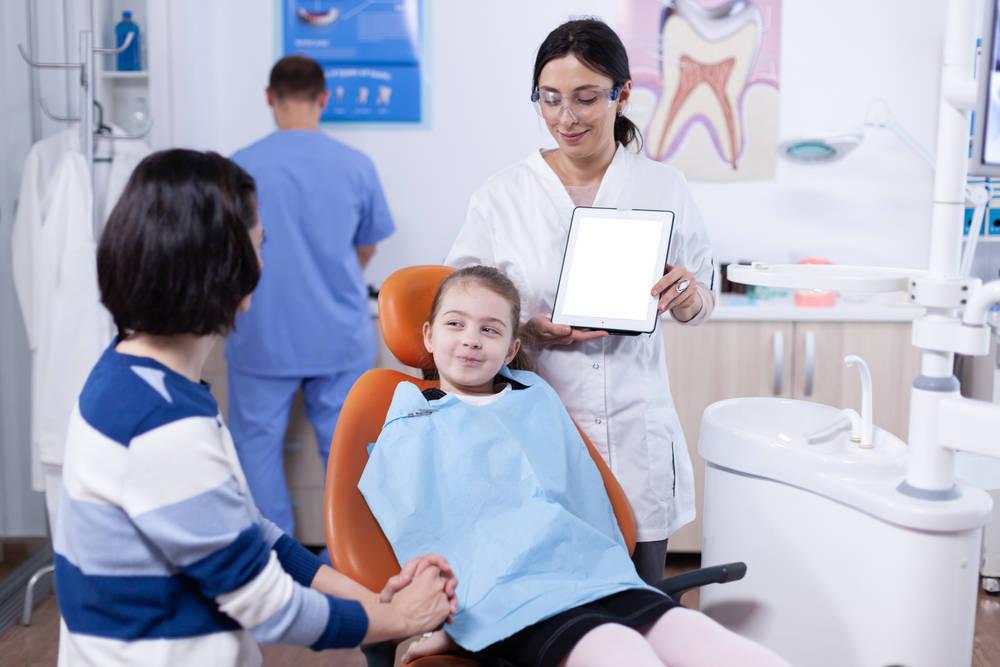 Niños y dentistas